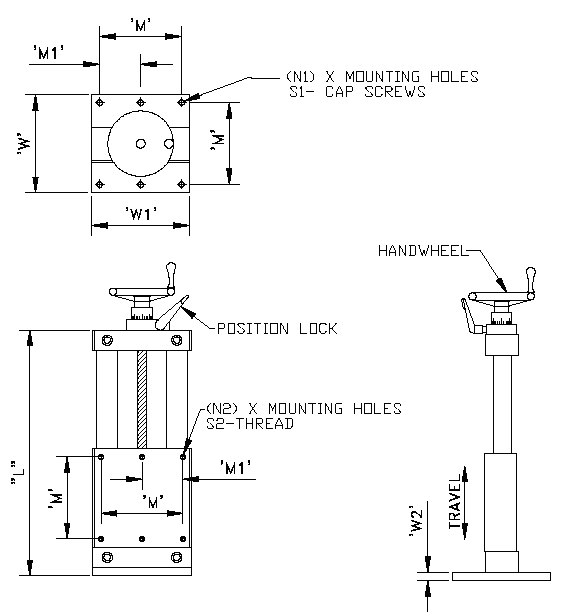 Vertical Slide Assemblies
